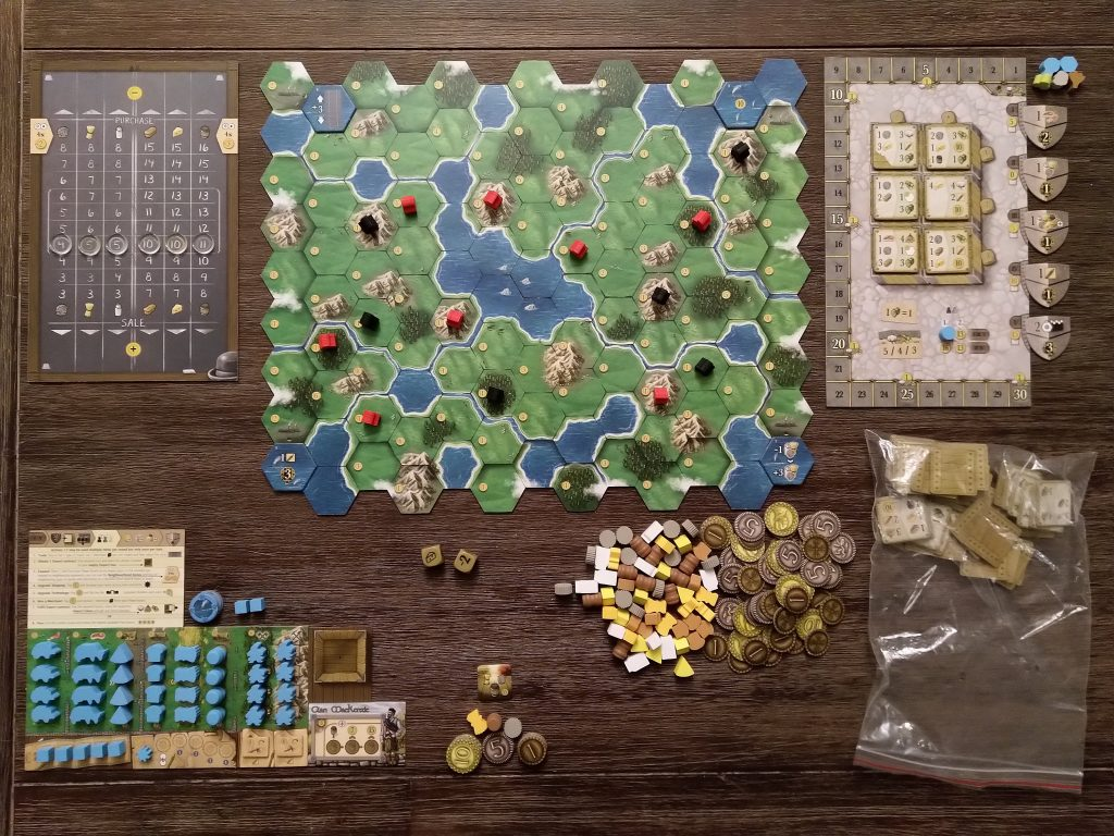 Clans of Caledonia - complete setup
