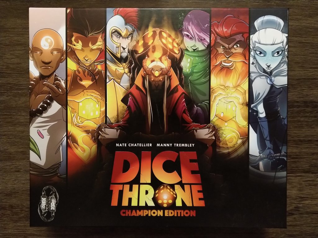 Dice Throne - front of box